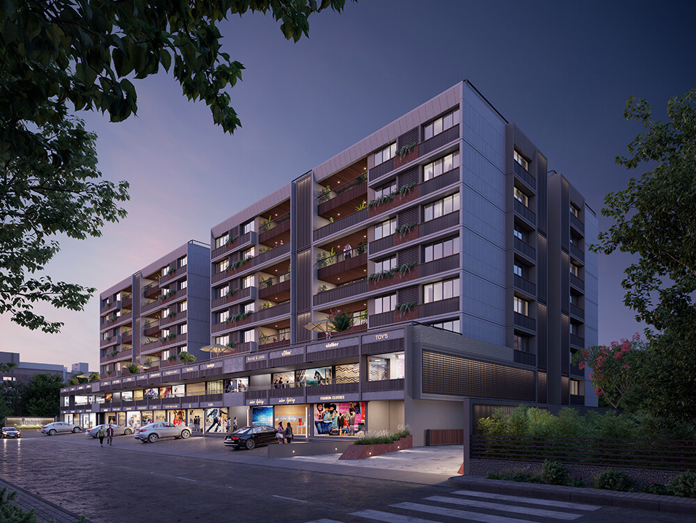 The Indus, 4 BHK Apartments-2